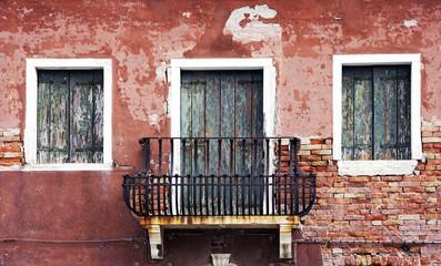 Vecchia casa abbandonata,Burano