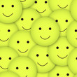 seamless vector smileys