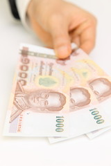Baht banknote