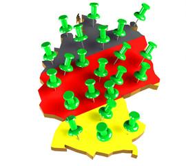 Deutschland Standorte