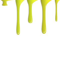 Farbspritzer gelb
