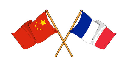 China and France alliance and friendship