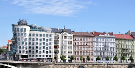 Prague embankment