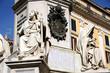 Rom Brunnen Säule Detail