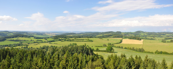 Hoslovice lookout view