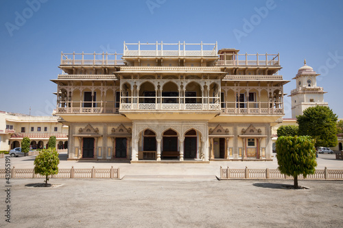 Mubarak Mahal in City Palace in Jaipur, India