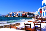 Fototapeta Grecki - wyspa - Wieś
