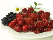 Berries, cherry and red currant