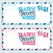 Baby Shower Invitation Envelopes