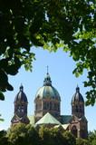 St. Lukas Evangelical Lutheran Church in Munich, Bavaria poster