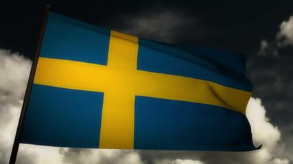 Flag Sweden 02