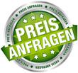 """Button Banner """"Preis anfragen"""" grün/silber"""