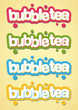Bubble Tea Logos