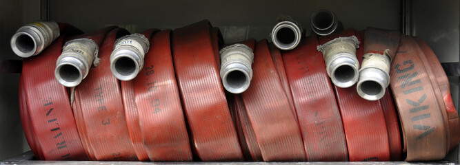 Fire Fighters Hoses