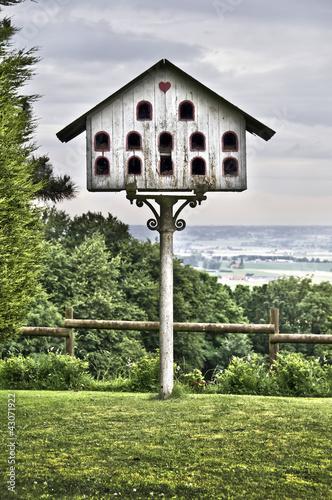 pigeonnier en bois dans les flandres photo libre de. Black Bedroom Furniture Sets. Home Design Ideas