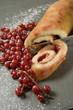 Biscuit roulé à la gelée de groseilles