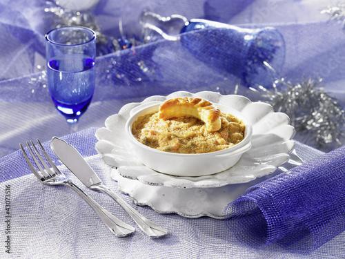 Cassolette de langoustines et écrevisses