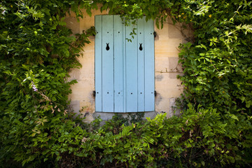 Maison, immobilier, campagne, jardin, charme, glycine