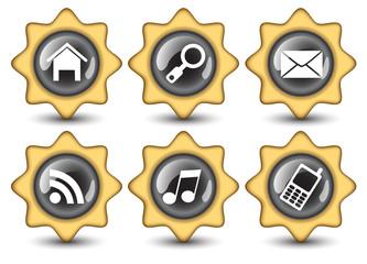 Creative Stars navigation buttons