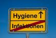 Wechselschild HYGIENE - INFEKTIONEN