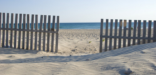 Zahara de los Atunes beach in spain. Cadiz, Andalucia.