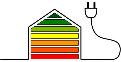 Casa in classe energetica