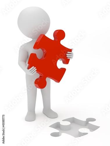 Puzzle Männchen