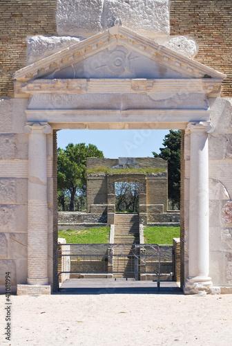 Foto op Canvas Stadion Amphitheatre of Lucera. Puglia. Italy.