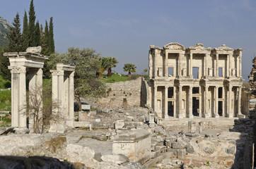 Celsusbibliothek in Ephesus.