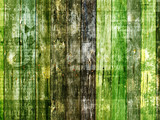 Fototapeta drewno - zielony - Drewno