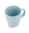 Light blue coffee cup