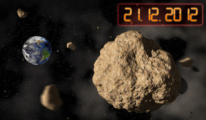 Meteorit Weltuntergang