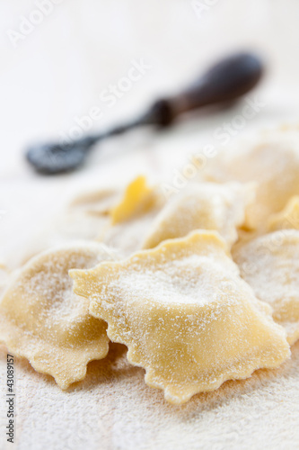 raw ravioli homemade