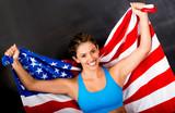 American female athlete