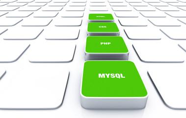 3D Pads Grün - HTML CSS PHP MYSQL 9