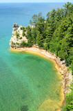 Miners Castle at Pictured Rocks National Lakeshore poster