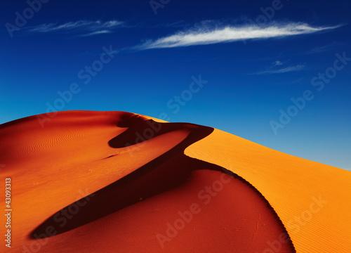 Plexiglas Algerije Sahara Desert, Algeria