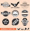 Happy Halloween Banner Label