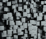 abstract image of cubes background - 43094521