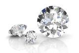 Fototapeta diament - drogi - Biżuteria