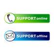Support online / offline