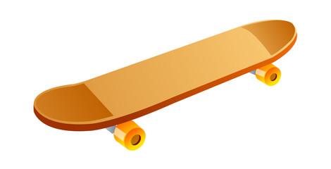 vector icon skateboard
