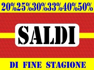 SALDI DI FINE STAGIONE 01
