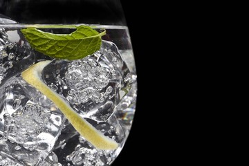Aromatic and elegant cocktail