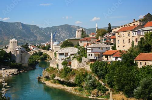 Stary most w Mostarze, Bośni i Hercegowinie