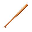 Wooden baseball bat