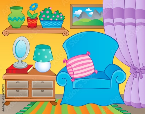 Room with furniture theme image 2