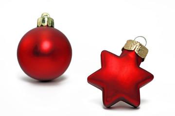 weihnachtsstern mit kugel