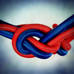 red blue cord