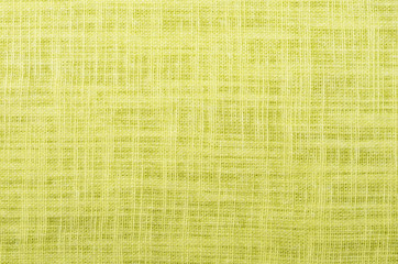 citron color close up linen texture background